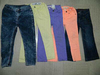 Girls' Jeans Trousers Bundle age 4/5 years Slim Fit