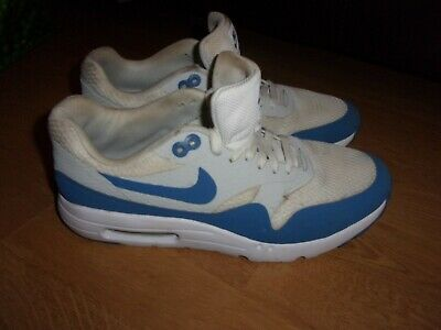 Nike Air Max 1 Ultra Essential Varsity White & Blue mens trainers size 8
