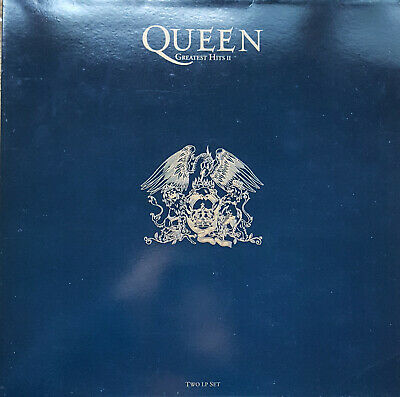 Queen ‎– Greatest Hits II Double Vinyl LP  PMTV 2
