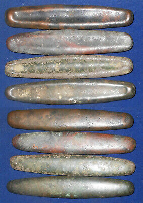Laos Bronze 15-17th Century 4 large normal type boat set rare and nice  EF