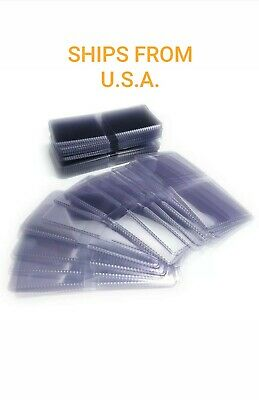 50 Pack 2x2 Double Pocket Coin Flips Safety Flips - No Inserts Compare to Saflip