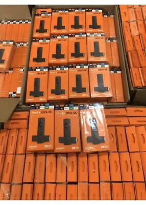 Lot of 20 NEW Amazon Fire TV Stick 4K  2019 Model