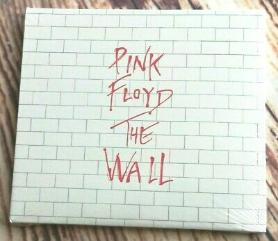 The Wall By Pink Floyd (2 CD, 2016 Pink Floyd [Slipcase])