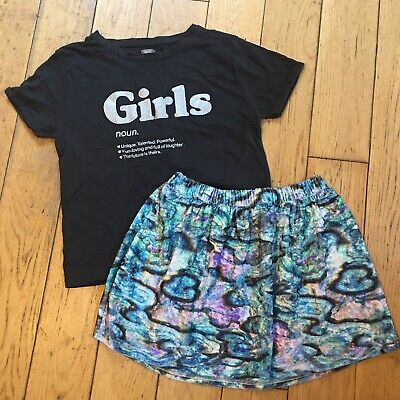 Girls Next Top And Skirt Outfit Age 12 Years