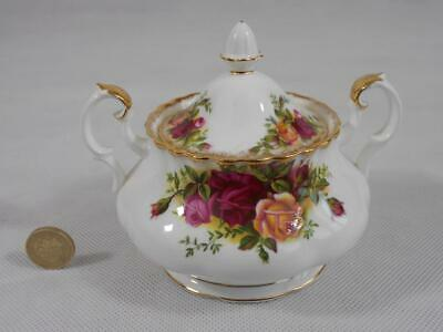 Royal Albert Old Country Roses Lidded Sugar Bowl.(Marked As A Second).