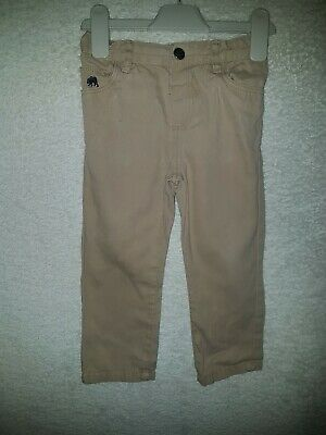 Boys Kids Age 2 To 3 Years Beige Trousers Chinos Good Quality And Condition