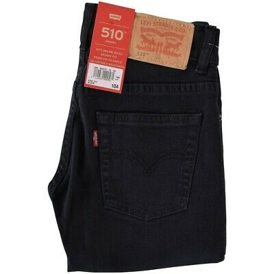 GENUINE levis boys 510 skinny fit black jeans 5 year bnwt  item RRP £52