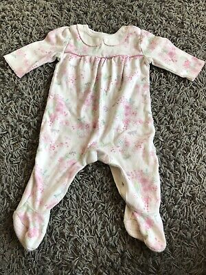 Baby girl All In One Playsuit Sleepsuit Babygrow - 3-6months