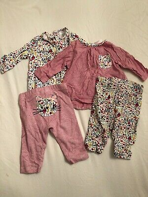 Next Set Of 2 Girls Outfits 0-3 Months