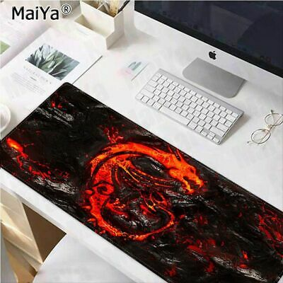 Gaming Mouse Pad Large Dragon Desk Computer Mousepad Mat Extended Xxl Size Thick
