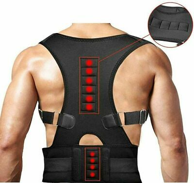 Posture Corrector Adjustable Clavicle Back Support Neck Brace Lumbar Men Women