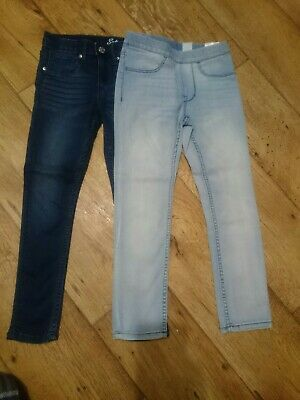 2 x H&M Girls Jeans Age 5-6 Years