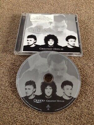 QUEEN Greatest Hits III Limited Edition CD Mercury May D. Bowie George Michael