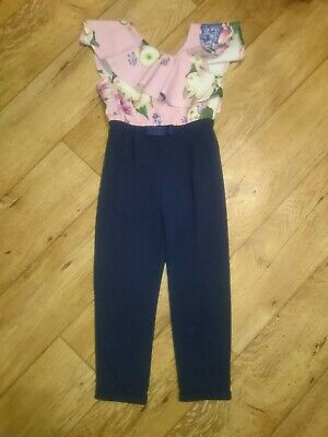 Girls Ted Baker Jumpsuit Age 6 Years