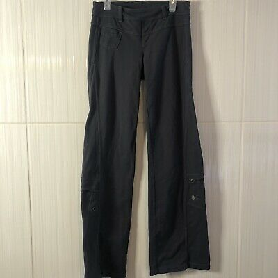 ATHLETA Bettona Classic Pant MP Small Coal Gray Yoga Pants w/ Pockets