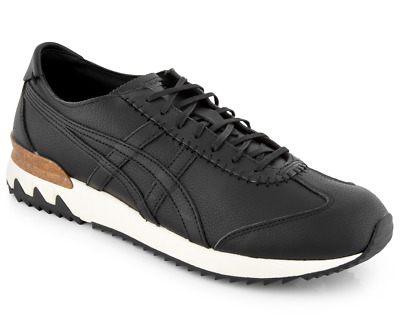 New Asics  Unisex Trainers Onitsuka Tiger MHS Shoe /black leather shoes/ £115