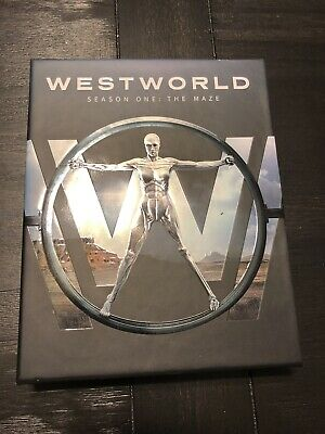 Westworld: The Complete First Season (Blu-ray Disc, 2017) Plus Digital Copy