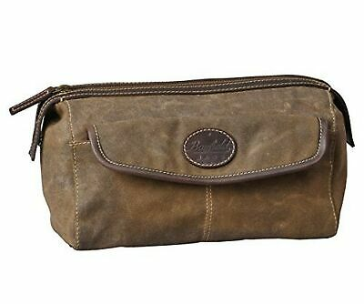 Ditty bag,oval shape utility kit Made in U.S.A. Shaving bag,black toiletry bag