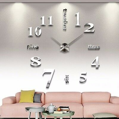 Large DIY Quartz Wall Clock Movement Hands Mechanism Repair Parts Tool Kit  C U