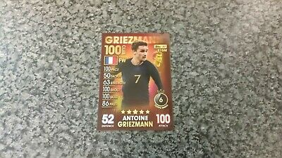 Match Attax 101 Collection 2019 Antoine Griezmann (France) Hundred 100 Club Mint