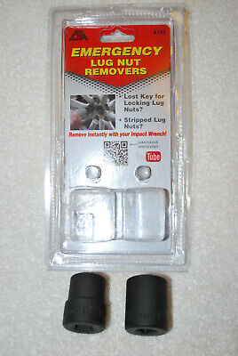 Lug Nut Remover//Wheel Lock Removal Kit 2pc CTA-A155