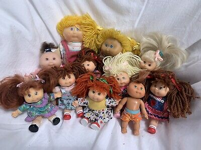 Bulk Lot Of Vintage Cabbage Patch Kids ( Suit Doll Collector)