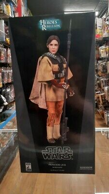 Leia as Boushh Sideshow Exclusive 1:6 Scale Figure Star Wars NEW