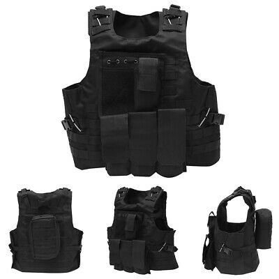 Military Tactical Vest Combat SWAT Police Airsoft Hunting Assault Plate Carrier