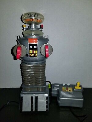 Toy Island 1998 Productions Lost In Space Remote Control B-9 Robot TESTED/WORKS