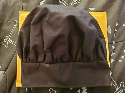 Ritz Chef Hat #15004, Black, One Size Immaculate