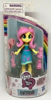 "MY LITTLE PONY G4.5 Equestria Girls FLUTTERSHY Fashion Squad 3"" Mini Doll 2020"