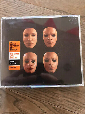 Pink Floyd Is There Anybody Out There? The Wall 1980-81 Live Cd Double Album