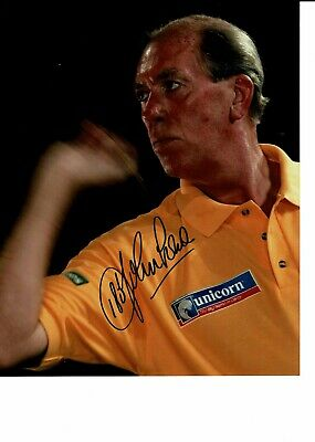 John Lowe Signed Darts 10 X 8 Photograph with 180