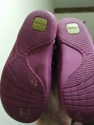 Clarks Girls Shoes Size 7.5 F