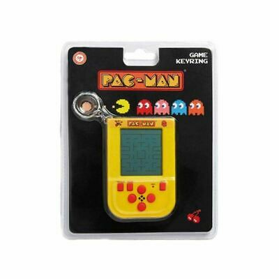 Pac-Man Mini Handheld Console Game Keyring Keychain - Retro Video Games