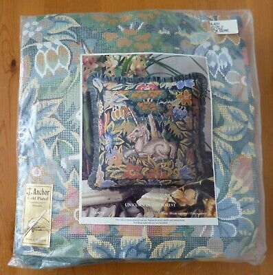 Anchor Unicorn In The Forest Needlepoint/Tapestry Kit New GL4031 Embroidery