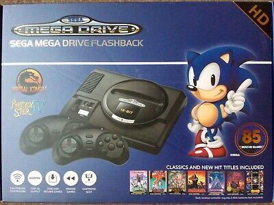 Sega Mega Drive Flashback HD  Console with 85 games built in