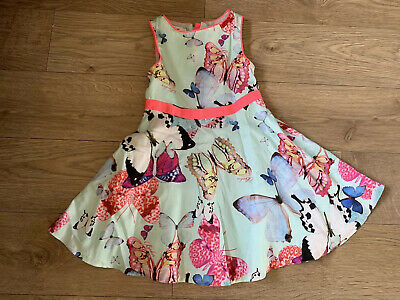 Girls Ted Baker Butterfly Dress Age 3-4 Years