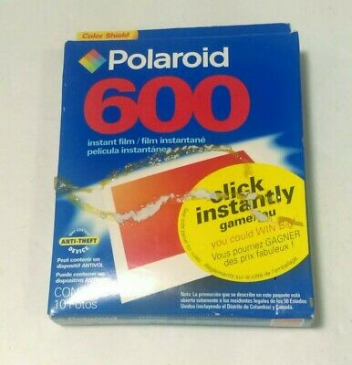 Polaroid 600 EXPIRED 2004 Instant Film Sealed Single Pack 10 Photos pictures