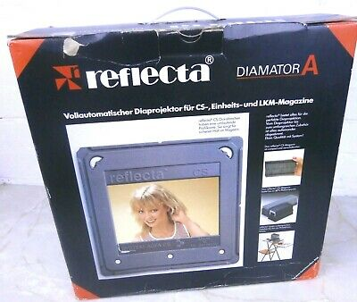 Vintage Agfa Reflecta Diamator A 35mm Slide Projector Full Working Order