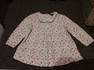 Ted Baker Aged 9 Floral Girls cotton Blouse
