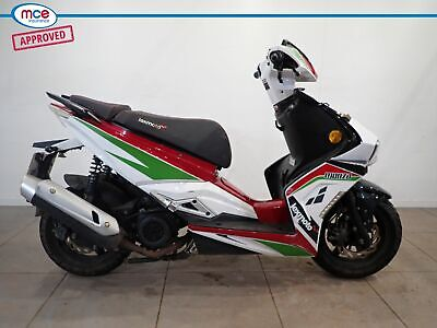 Lexmoto Monza 125 Red 2018 Spare or Repair Restoration Project Donor Bike Damage