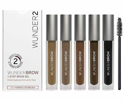 Wunderbrow Brow Gel Perfect Eyebrows In 2 Mins Various Shades -New.
