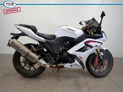 WK Bikes 125 RR White 2014 Spares or Repair Restoration Project Damaged