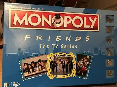 Friends The TV Series Monopoly Hasbro Board Game Factory