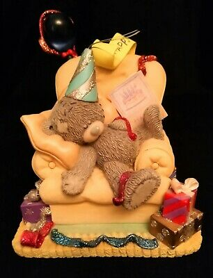 Me To You/Tatty Teddy Figurine/Ornament - 40121 - Birthday Party - BOXED