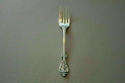 "Gorham King Edward Sterling Silver 6.25"" Pastry/Salad Fork-No Monogram"