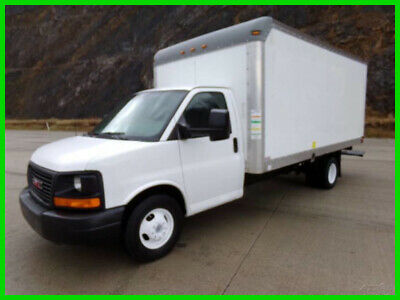 2012 GMC Savana 3500 16' Box Truck Used