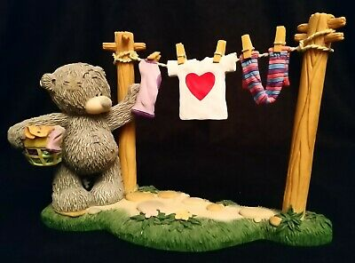 Me To You/Tatty Teddy Figurine/Ornament - 40157 - Showing I Care - BOXED
