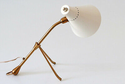 RARE MID CENTURY Articulated TABLE or WALL LAMP by GIUSEPPE